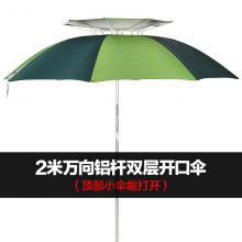 <text>骑安钓鱼伞万向2.2米台钓伞超轻折叠户外防雨遮阳伞渔具<font style='color:#ec5151;'>垂钓</font>用品渔伞</text>